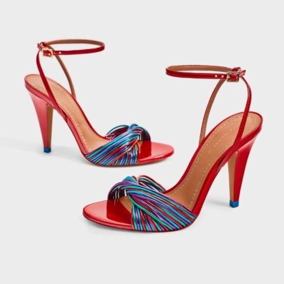 e22c93f6575e67 Colorful Zara Sandals. M 5c8eff27c89e1d2f1920b7fc